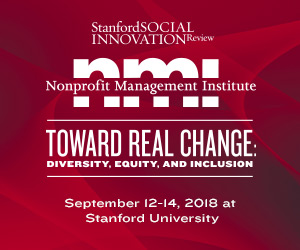 Stanford Social Innovation Review – Left Sidebar